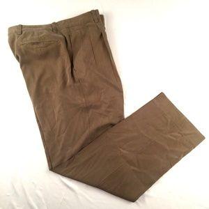 Tommy Bahama Mens Slacks Dress Pants Brown 35 x 32